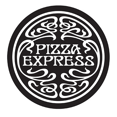 The Pizza Express Logo.