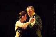 Jolanta and Adrian dancing